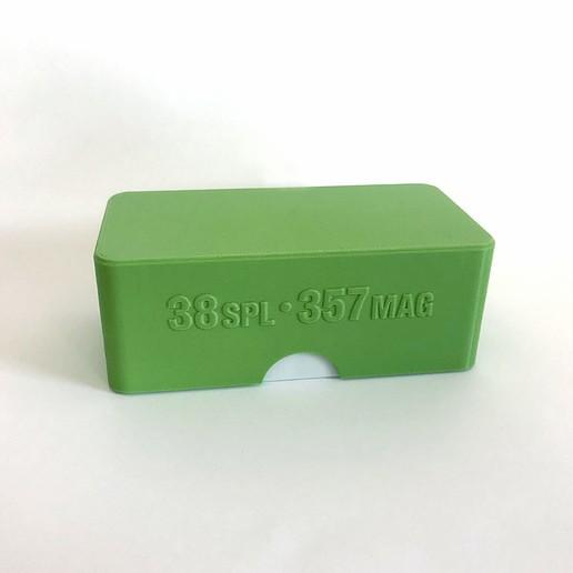 ammunition box 357 magnum