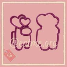 us cœurs tranchant biscuit coupeur biscuits gâteau cuisinier Saint Valentin journée cœur l'amour us