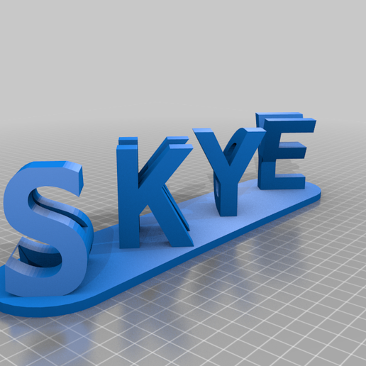 andy skye customized sign