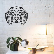 animal wall decoration dog animal dog geometric wolf tiger american america eagle head fly skytribal tribal mask stl cnc art african wall decoration decor support home office happy ender anet blender engraving