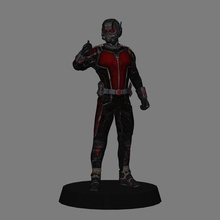 antman - antman movie poly 3d print antman marvel low poly print 3d scottlang avengers endgame antman and the wasp ant man marvel cinematic universe mcu ucm paulrudd