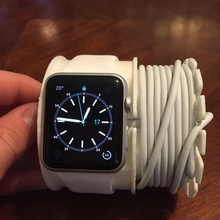apple watch charging wall mount gadget stand charger