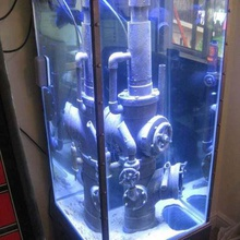 aquarium pipework ornament example build home pets steampunk space marine rusty pipework pipes pipe marine fishtank fish tank fish aquarium