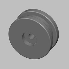 ariston tumble dryer pulley wheel reinforced spare spare-parts replacement wheel pulley tumble-dryer ariston