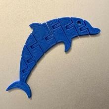 mafsallı Yunus anahtarlık mafsallı esnek esnek Yunus hayvan oyuncak anahtarlık Yazdır in yer