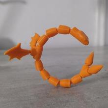 mafsallı yılan oyun hayvan heykel mafsallı yuvalama bölüm derleme yılan sürüngen gadget oyun