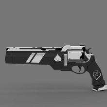 ase spades hand cannon gun pistol weapon danger illustration force ammo machine gun bladed weapon chemistry protection security equipment isolated scientific cannon spades ase military