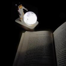 astro agarrando Luna lámpara juguete lámpara Luna astronauta lindo portátil