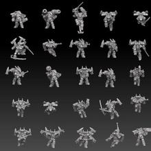 astroknight roketçiler megapack paylaşılan günlük Paylaşılan minyatürler piyade Warhammer 40k askeri rpg masaüstü savaş oyunu Necromunda bilimkurgu astronot uzay denizi imparatorluk muhafızı shadowrun siberpunk droptroops elysian kadiyen saldırı el bombası roketatar yıkıcı