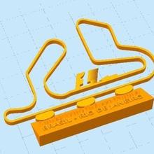 aut dromo circuito f1 - nelson piquet jewelry formula1 granprix corrida f1 gama3d