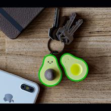 Avocado Schlüsselbund Avocado Obst Schlüssel Ring Versammlung Puzzle Grün Geschenk zärtlich