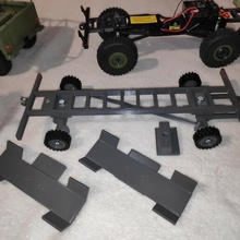 axial scx24 trailer synchronised axles 101 trailer lego 1/16 axial scx24 axial scx24 crawler mini crawler micro crawler 1/24 jeep chevrolet c10 land rover