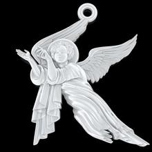 bebé ángel colgante de la joyería la joyería ángel de navidad la joyería el colgante escultura tienda de regalos imprimible de la pluma ala de oro joya la joyería el collar colgantes rhino la plata zbrush rezar kupidon cupidone