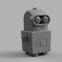 bambino bender futurama giocattolo figurina bambino bender robot