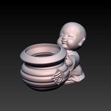 bebê buda harmonia Panela bebê Buda Buda vaso flores matera plantar plantas jardim casa escritório decoração harmonia