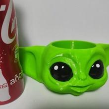 Baby Yoda Bleistift Halter Unterstützung Tasse Baby Yoda Tasse Bleistifte Star Kriege Mandalorianer