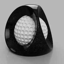 balle captive art art balle d&eacute coration golf jeu sculpture sport sculptures