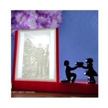 base san valentin día litografía litofano lámpara san valentin día