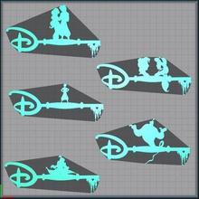 batch - key aladdin jasmine - key aladdin jasmine - disney home lot - aladin jasmine key disney engineering genie