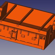 box batteria mehano 51 sncb ho vari in miniatura con il treno ferroviaria modelism ho scala