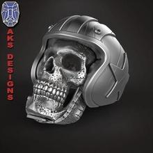 biker skull 1 ring jewelry jewel jewellery biker gang club riders silver gold mens womens punk fancy jewelri pendant skull rings american helmet race