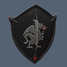 chevalier noir bouclier fortnite jeu red knight
