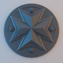 negro de los templarios logotipo juego juguete juego de accesorios warhammer 40k wargaming tablero de la mesa el logotipo el icono escudo de armas templarios negros 40k