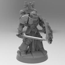 negro templarios Guardia espada negro templarios espacio infantería marina protector hoja primaris Krackendoor
