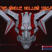 bleach hollow mask - ichigo hollow mask game bleach bleach ichigo mask ichigo mask bleach mask anime manga japanese ghost mask ichigo hollow mask hollow hollow mask  cosplay halloween