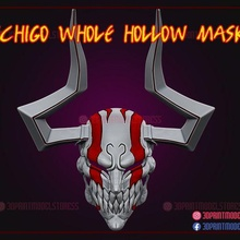 bleach ichigo hollow mask game bleach bleach ichigo mask ichigo mask bleach mask anime manga japanese ghost mask ichigo hollow mask hollow hollow mask  cosplay halloween