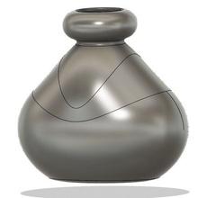 blobby vase blobby vase flower pot flower vase vase decor