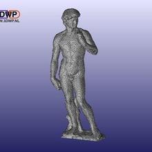 blocky david michelangelo art david meshmixer michelangelo minecraft sculpture statue sculptures
