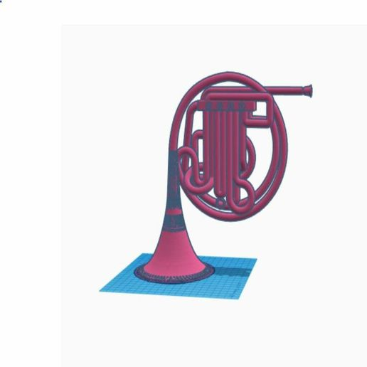 blue french horn blue fre