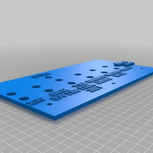 boat switch pannel boat marine switch 3d_printing