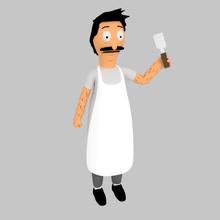 bob belcher bob's burgers art bob bob belcher bob's burgers pla series animated model figure cartoon