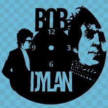 bob dylan watch art clock wall time 3dlito bob dylan music
