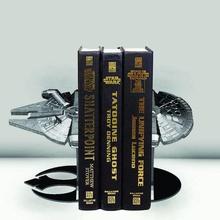 book holder star wars - millennium falcon home age-old falcon serre livre book holder book portal bookend book book stand holder stand resistance millennium falcon star wars