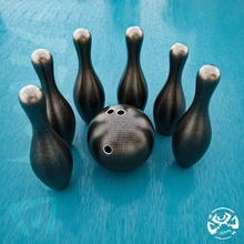bowling creality miniature low poly easy ender art toy game yiixpe setting sculpture statue stl obj art toy desk home print 3dprinter model decoration resin sla bowling keel summer vacancy camping evening club night