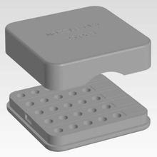 box v6 ugelli 25 pz w i tag strumento box casella di ugelli e3d v6 ugelli portaugello Stampante 3d accessori