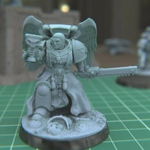 brother peter red bloody priest 40k blood angels space marine warhammer sanguinary tabletop miniature