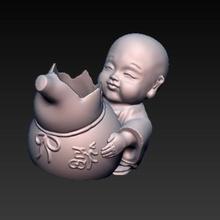 Buda Panela buda plantar matera vaso flores plantar plantas jardim casa Buda decoração escritório lindo bebê Buda