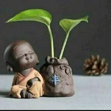 buddha pot happiness baby buddha buddha flowerpot matera plant plants garden home decoration office beautiful