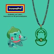 bulbasaur del colgante la joyería pokemon retro el colgante el collar  anillo de claves llavero super el logotipo de nintendo nes bulbasaur
