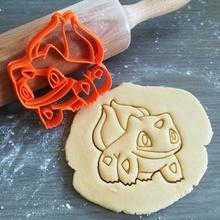 bulbasaur Pokemon biscotto taglierina giochi bulbasaur Pokemon animazione biscotto cottura biscotto taglierina Impasto forma cucina infornare biscotti speculoos