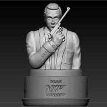 bust 007 sean connery  sean connery toys character 007 movie bust