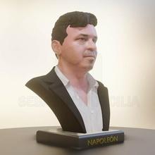 busto marcelo gallardo tonto marcelo galante muñeca río plato busto maíz millonario fútbol fútbol esculpir escultura licuadora
