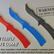 butterfly knife comb gadget xbox one xbox 360 xbox x-box one x-box 360 x-box war video valve unique stylish style strike steam ps4 ps3 present novelty hair global ovensive gift gaming gamers gamer game gadget fun easy print cs go knife cs go butterfly cs go cs global offensive counter-strike counter cool computer combat robots comb christmas present butterfly knife butterfly brush boys birthday gift birthday action figure action