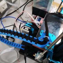cable de la cadena de montaje directdrive ender3 cr-10 de la herramienta cablechain cadena de cable cr-10 creality ender3 ender 3 Impresora 3d de las piezas