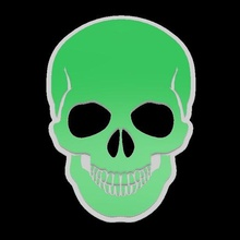 calavera - skull - agro si mina no art danger eco mina no agro si skull calavera