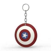 capitaine Amérique bouclier porte clés clé bague capitaine Amérique bouclier merveille bandes dessinées